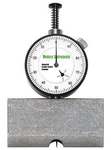 Western Instruments N88-2 Basic Pit Gauge Center Mount 2.5