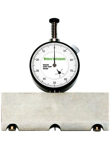 Western Instruments N88-3M Basic Plus Magnetic Pit Gauge Center Mount 3.5