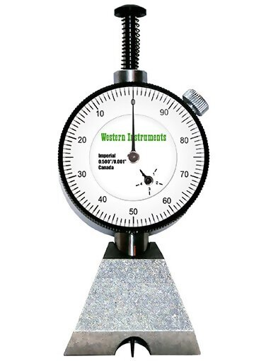 Western Instruments N88-4 Pocket Pit Gauge with 1.5