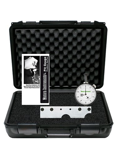Western Instruments N88-9B-D Basic Bridging Pit Gauge 5-1/2 inch with Digital Indicator