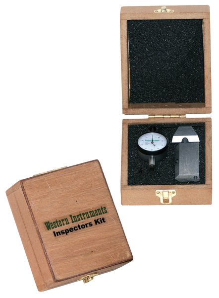 Western Instruments N88-IS-I Inspectors Kit, Inch Indicator